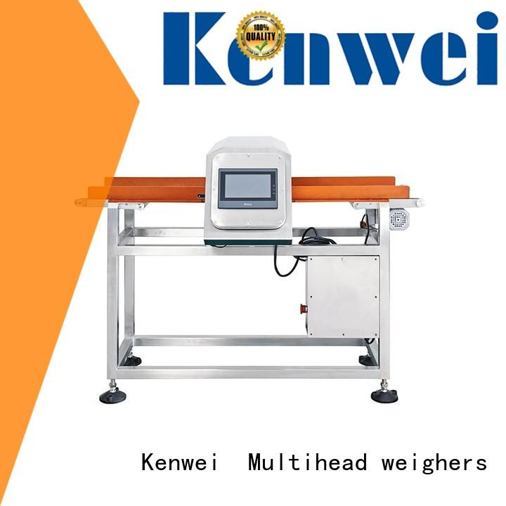 Kenwei dropped metal detector for bakery industry series for medicine