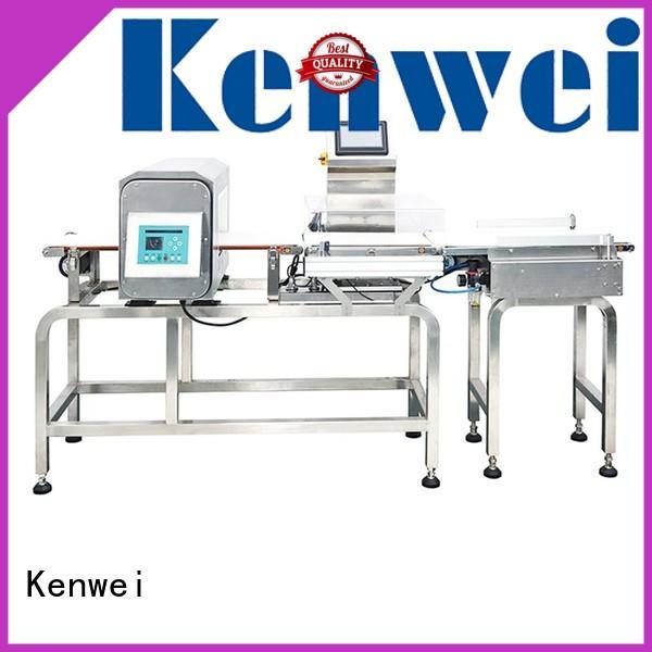 metaldetector weigher for textile Kenwei