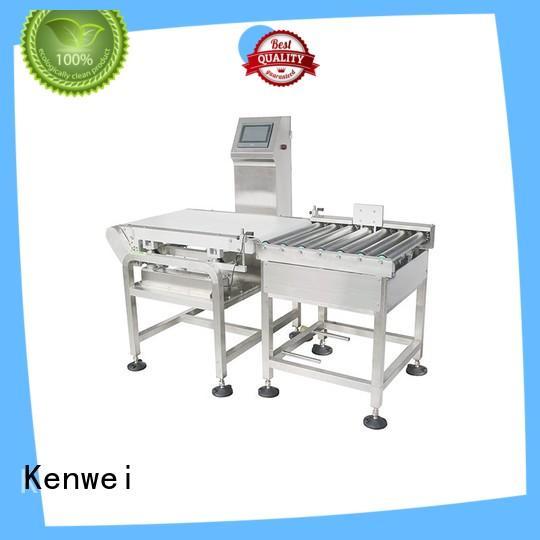 Kenwei online checkweigher scale weigher outdoor