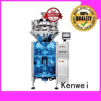 Máquina de llenado de pesaje fácil de desmontar para aperitivos