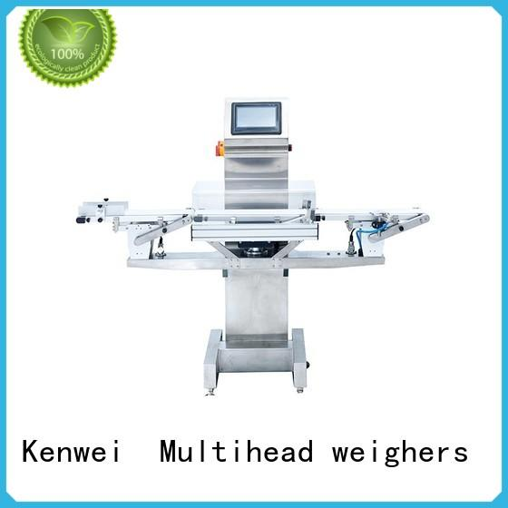 many colors customized check weigher machine Kenwei manufacturer