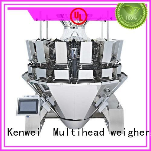 Kenwei máquina de envasado al vacío flexible fácil de desmontar para materiales con aceite