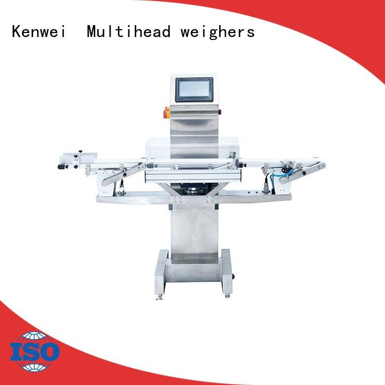 precision many colors check weigher machine optional color customized Kenwei Brand