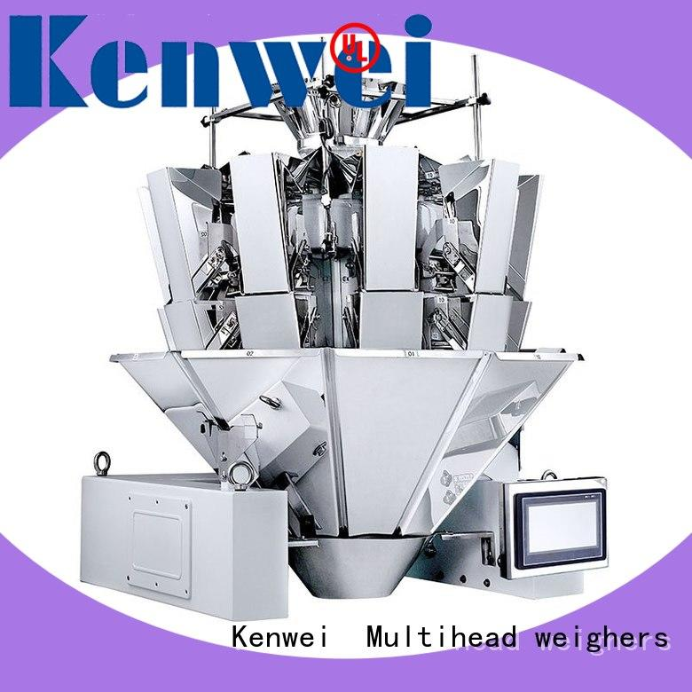Kenwei frozen checkweigher with high-quality sensors for sauce duck