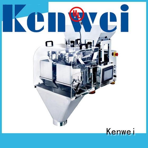 Máquina de envasado de pesaje Kenwei con diseño exquisito marrón para azúcar
