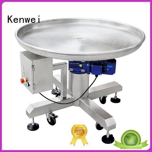 Kenwei précis système de convoyeur à bande en vente pour la nourriture