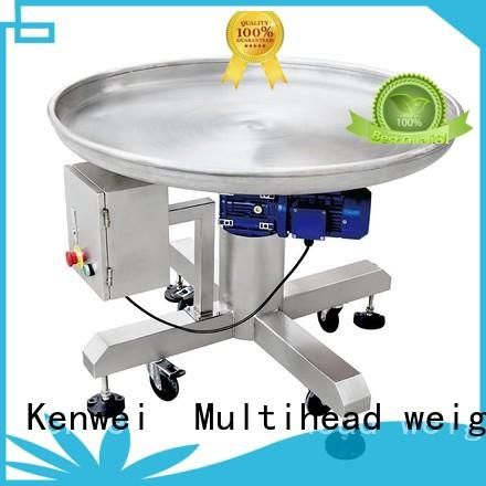 accurate rotary accumulation table on sale for corn Kenwei
