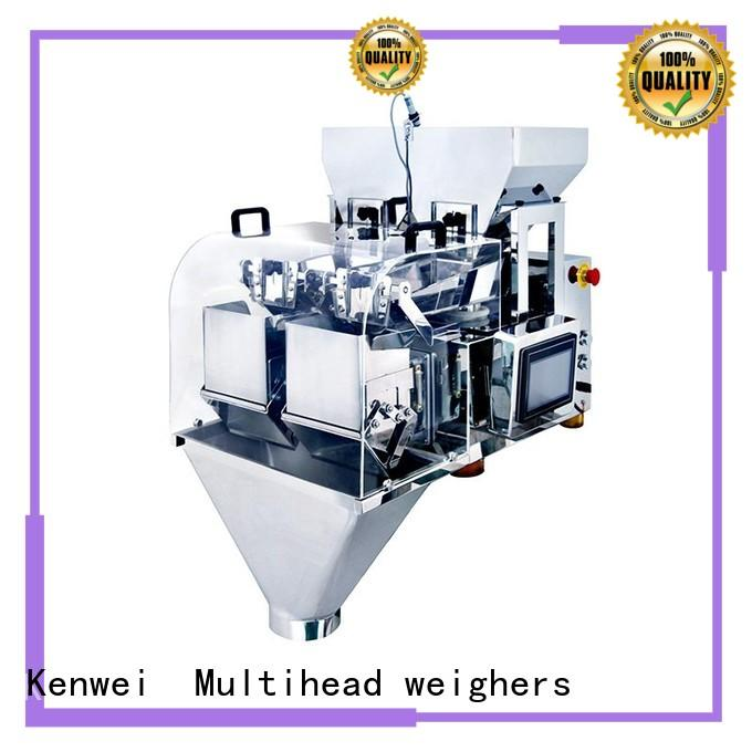 Kenwei weigher automatic weighing and packing machine easy to disassemble for industrial salt