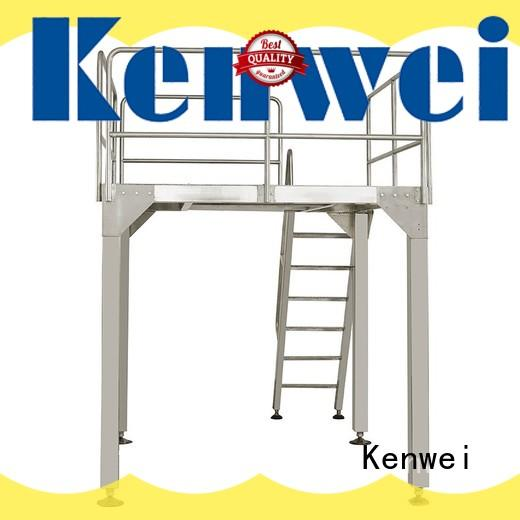 Kenwei en ligne système de convoyeur à bande en vente pour le maïs