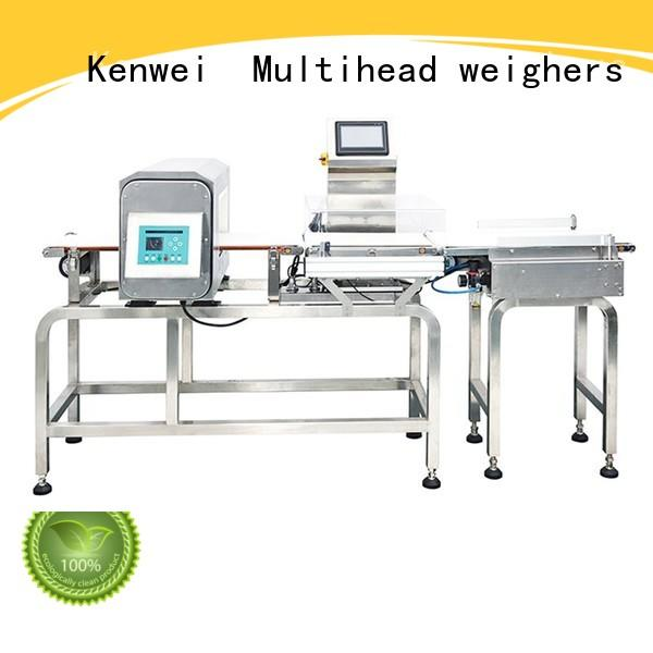 checkweigher and metal detector detector weigher metaldetector many colors Kenwei Brand