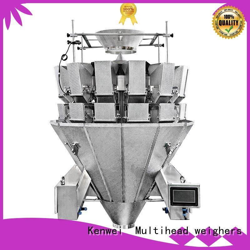Kenwei têtes équipements d'emballage alimentaire facile à démonter pour les matériaux avec de l'huile