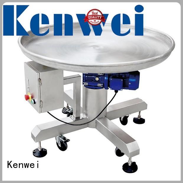 Equipo transportador de mesa Kenwei en venta para alimentos