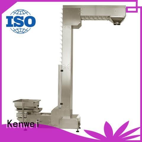 Plataforma inclinada producto de sistema de transportador Kenwei empresa