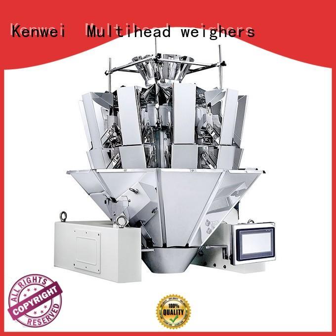 Kenwei standard weighing and packing machine heads factory