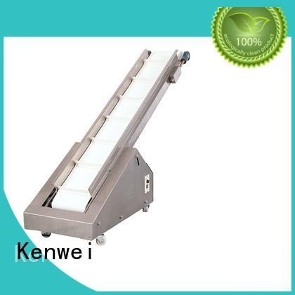 Transportador de embalaje transportador terminado que recoge el producto de la marca Kenwei