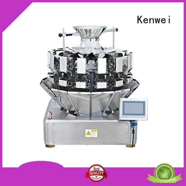 Empaquetadora de bolsas multicabezal Kenwei de alta calidad para materiales con alta viscosidad