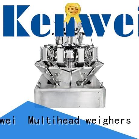 Máquina de envasado individual Kenwei con estructura simple para sal industrial
