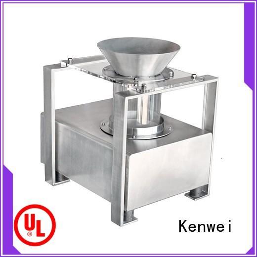 Kenwei Brand horizontal meat metal detector paper packaging supplier