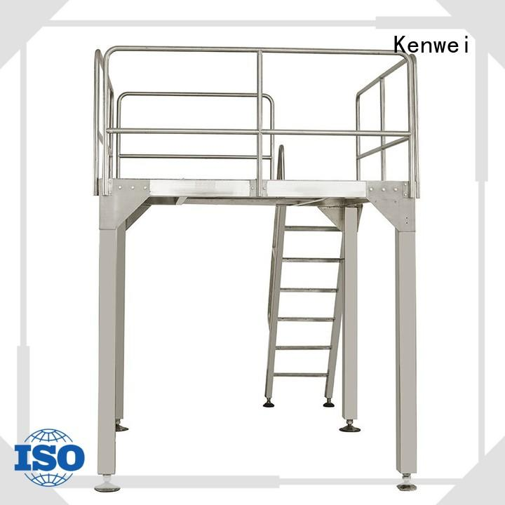 table working conveyor system inclined platform Kenwei company