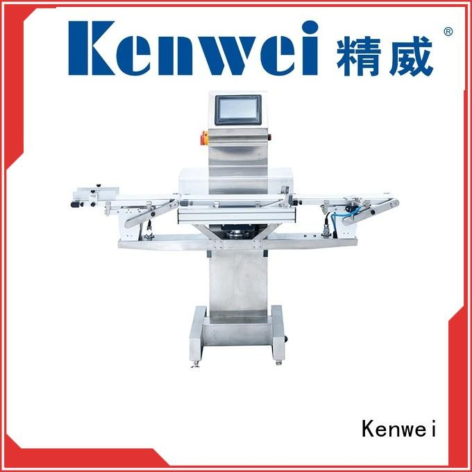 metal customized check weigher machine many colors best performance Kenwei Brand