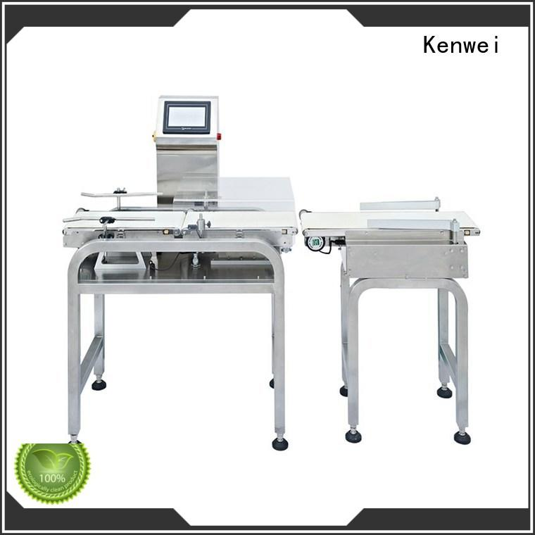 durable many colors energy saving Kenwei Brand check weigher machine manufacturer