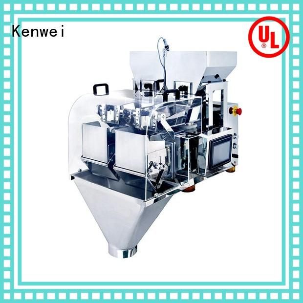 Kenwei Brand miniature packaging machine filling factory