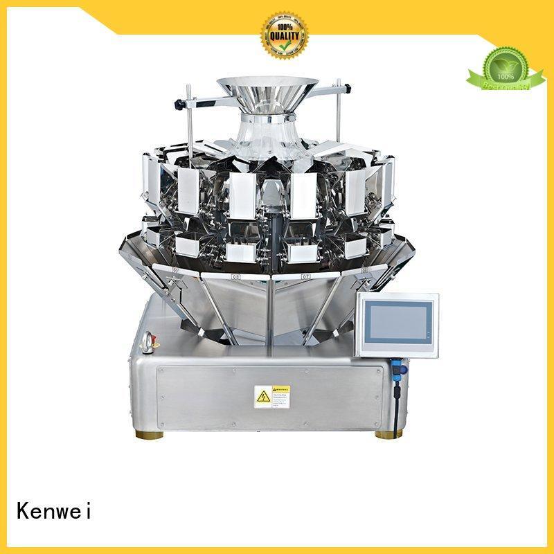 Peseur machine d'emballage chine avec capteurs de haute qualité pour poisson épicé Kenwei