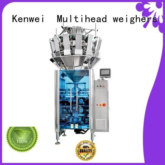 Máquina de llenado de pesaje Kenwei fácil de desmontar para semillas