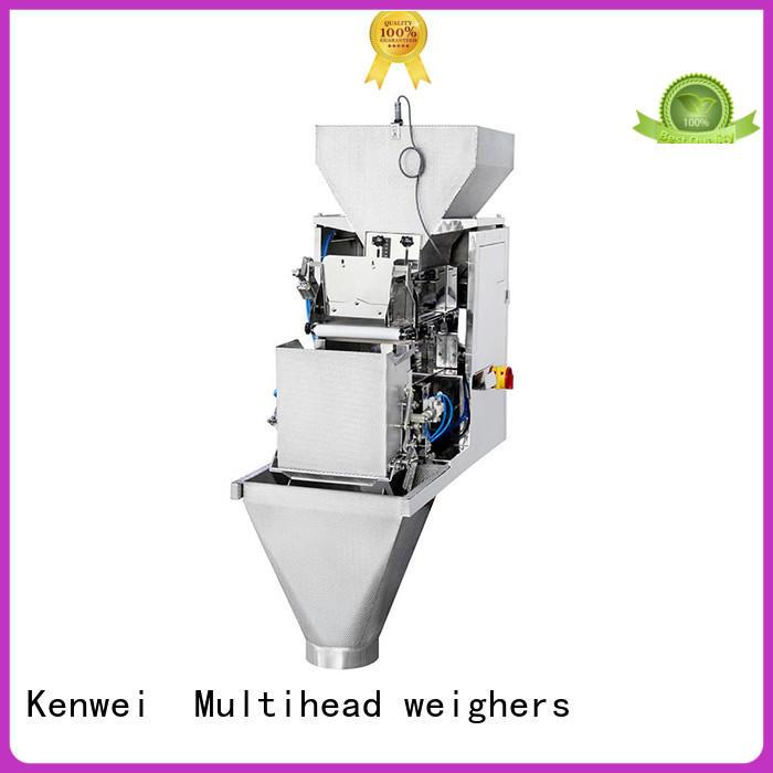 Kenwei têtes électronique de pesage machine facile à démonter pour matériaux avec légère viscosité