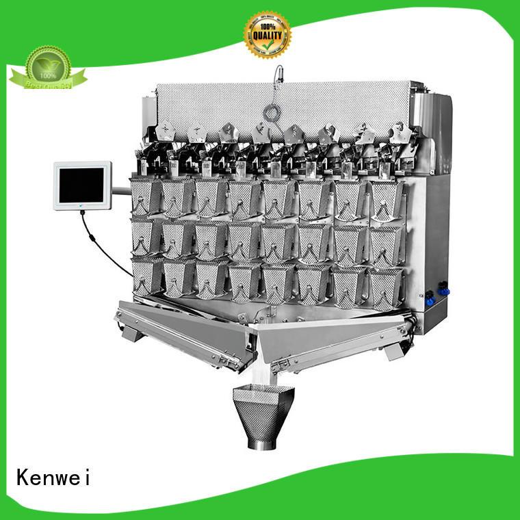Kenwei pesadora lineal congelada estándar para pescado picante