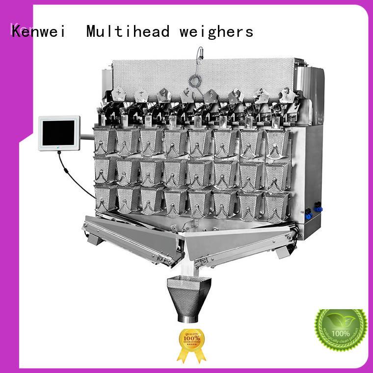 Salida de la máquina de envasado al vacío congelada fácil de desmontar para materiales con aceite