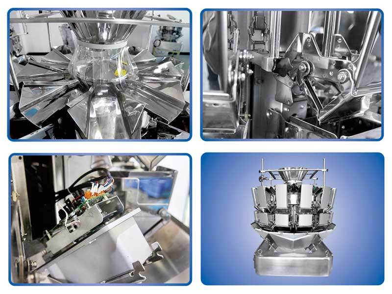 14 Heads Standard Multihead Weigher with Hopper 1.6L