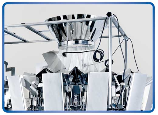 Kenwei -2g 20 Heads 8 Type Multihead Weigher Two Output 16l 25l | Multihead-3