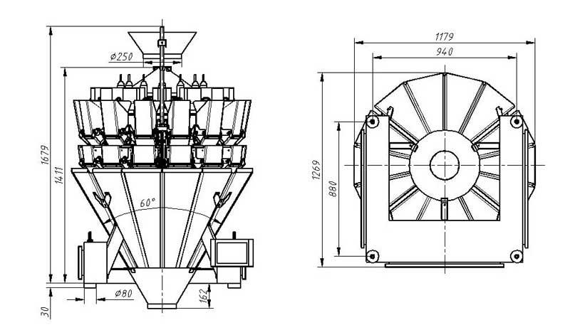 Kenwei peseur peseur avec capteurs de haute-qualité pour les matériaux avec de l'huile-5