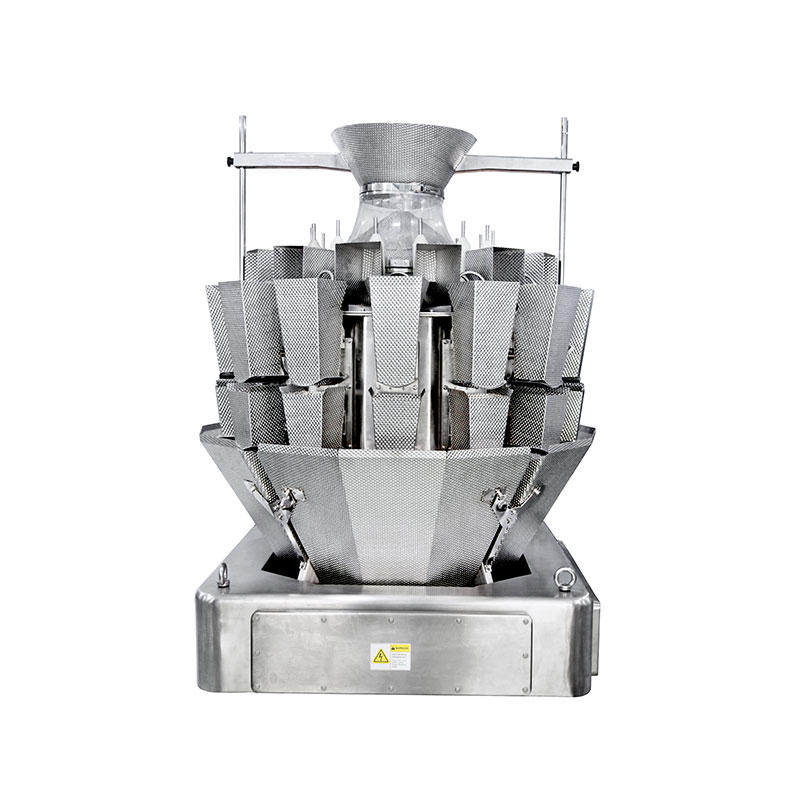 14 Heads Multihead Weigher With Screw Feeding For Chicken & Fish