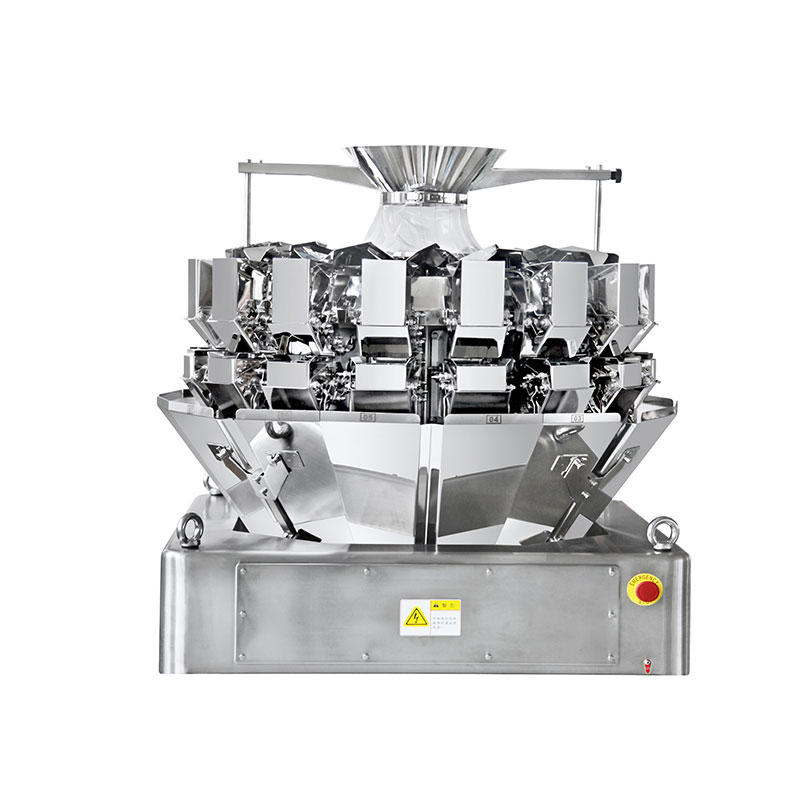 16 Heads High Speed Weigher with Double Layer Discharge Chute