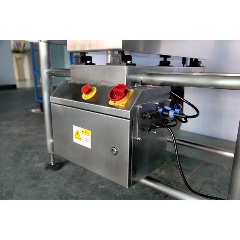 Máquina de detector de metales caídas de aluminio fácil de desmontar para la medicina