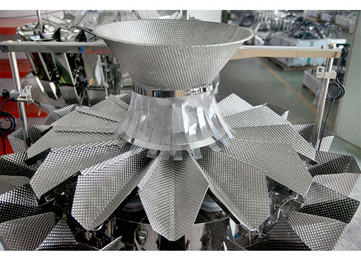 Kenwei -Wrapping Machine Manufacture | 14 Heads Anchovy Fish Weigher-2