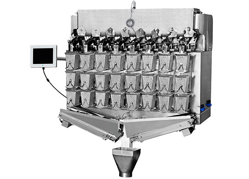 Kenwei -4g 8 Heads Three Layers Weigher 15l | Food Packaging Machine