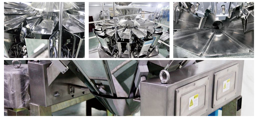 Kenwei -Bottling Machine-new Functional Characteristics Of Multihead Weigher Of