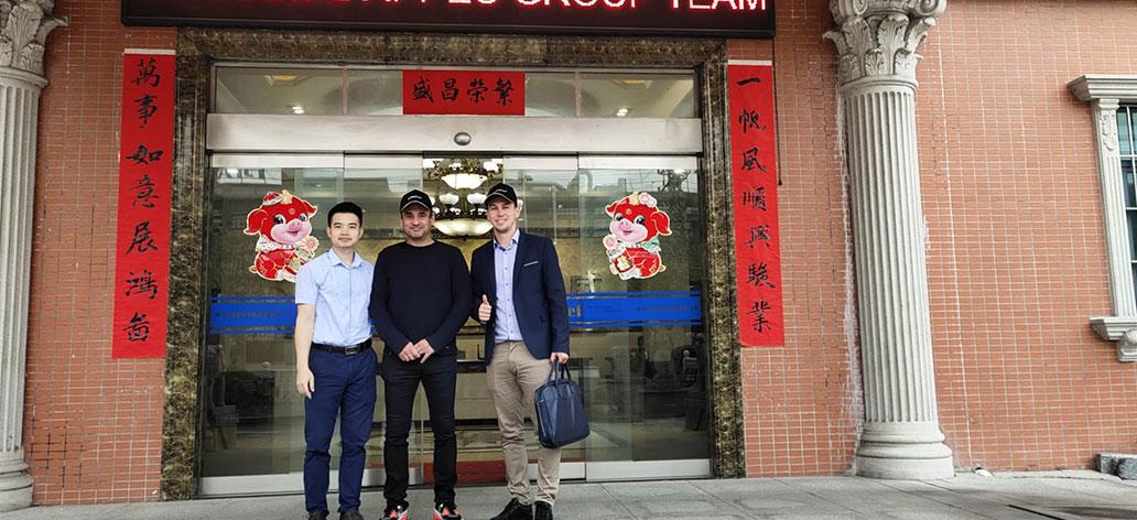 Kenwei -Welcome Czech Customers To Visit Kenwei, Guangdong Kenwei Intellectualized Machinery Co