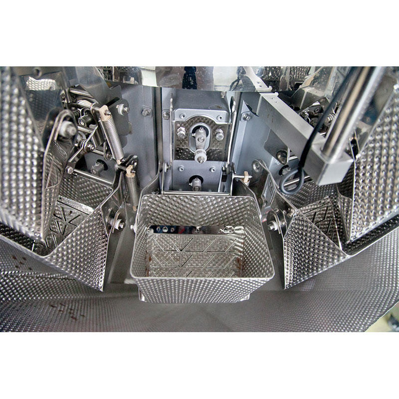 14 Heads Multihead Weigher With Weighing Anchovy Fish