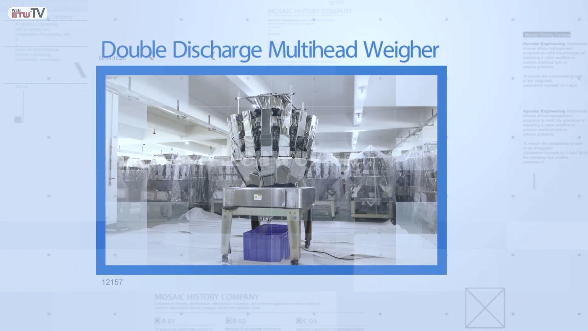 Double Discharge Multihead Weigher