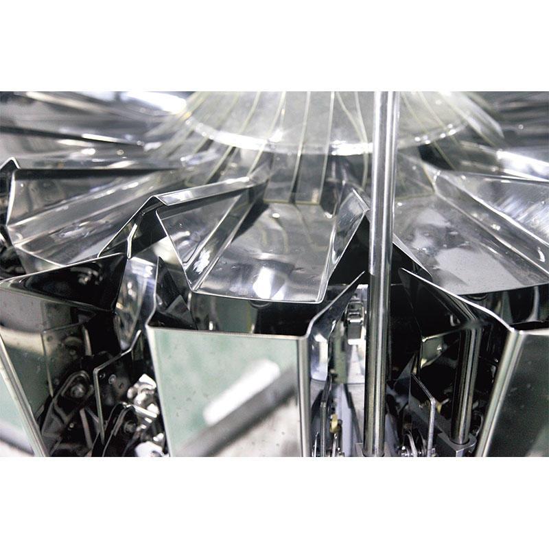10 Pesadora multicabezal estándar de 10 cabezas con tolva 1.6L / 2