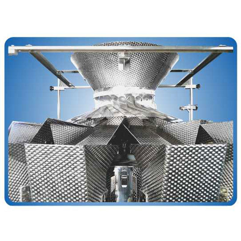 Automatic  14 Head Multihead Weigher for Cheese