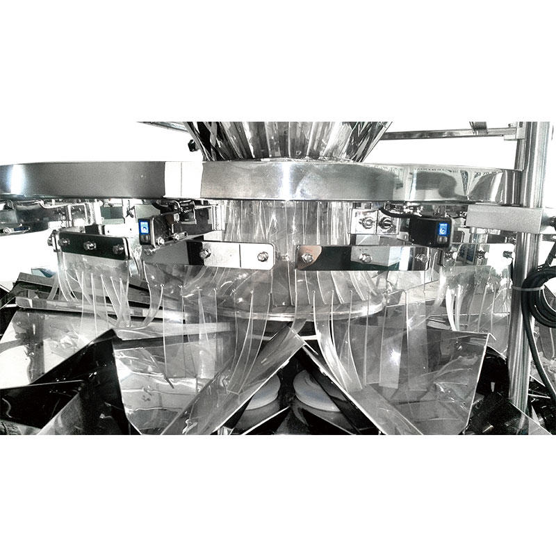 Feeding-control multihead weigher multi-function packing machine