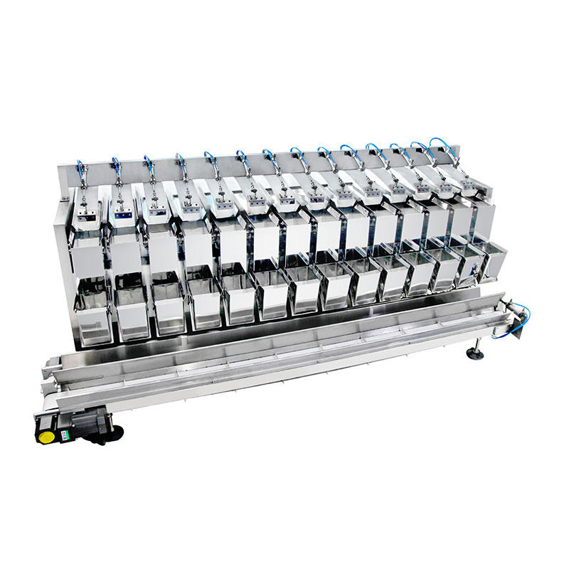 14 Head potato linear combination weigher with 4.5L hopper