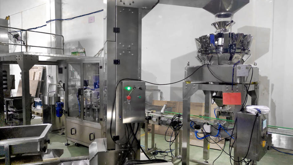 Hot-selling rice filling and packaging system