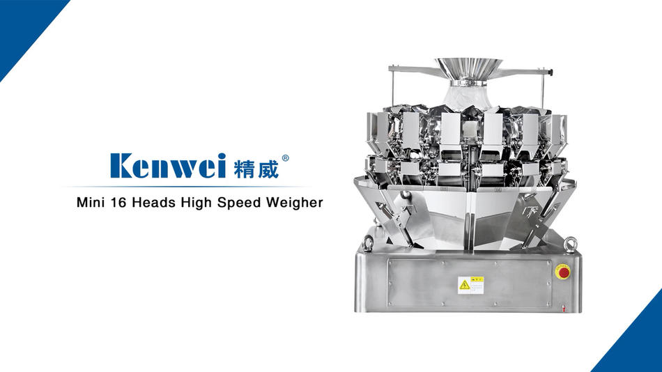 Mini 16 heads high speed multihead weigher for pet food