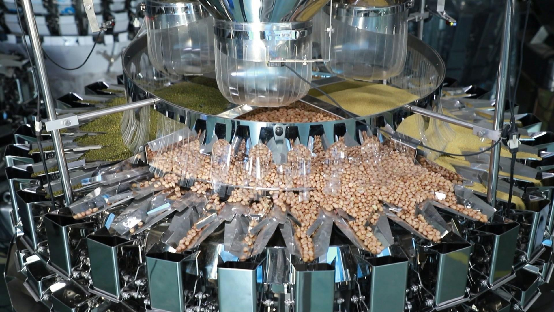 24 Heads 4 materials mixed multihead weigher